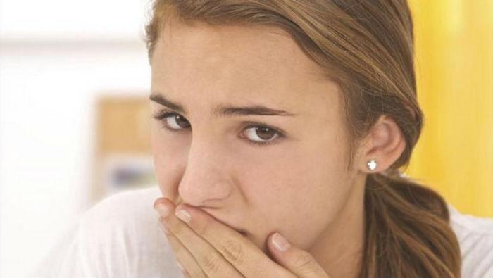 Отрыжка воздухом после еды - причины и лечение