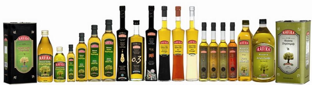 Оливковое масло Ravika