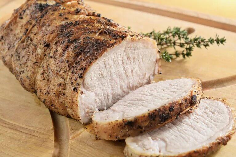 Свиная вырезка с медовой горчицей